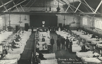 Sydney Hall Military Hospital 1916