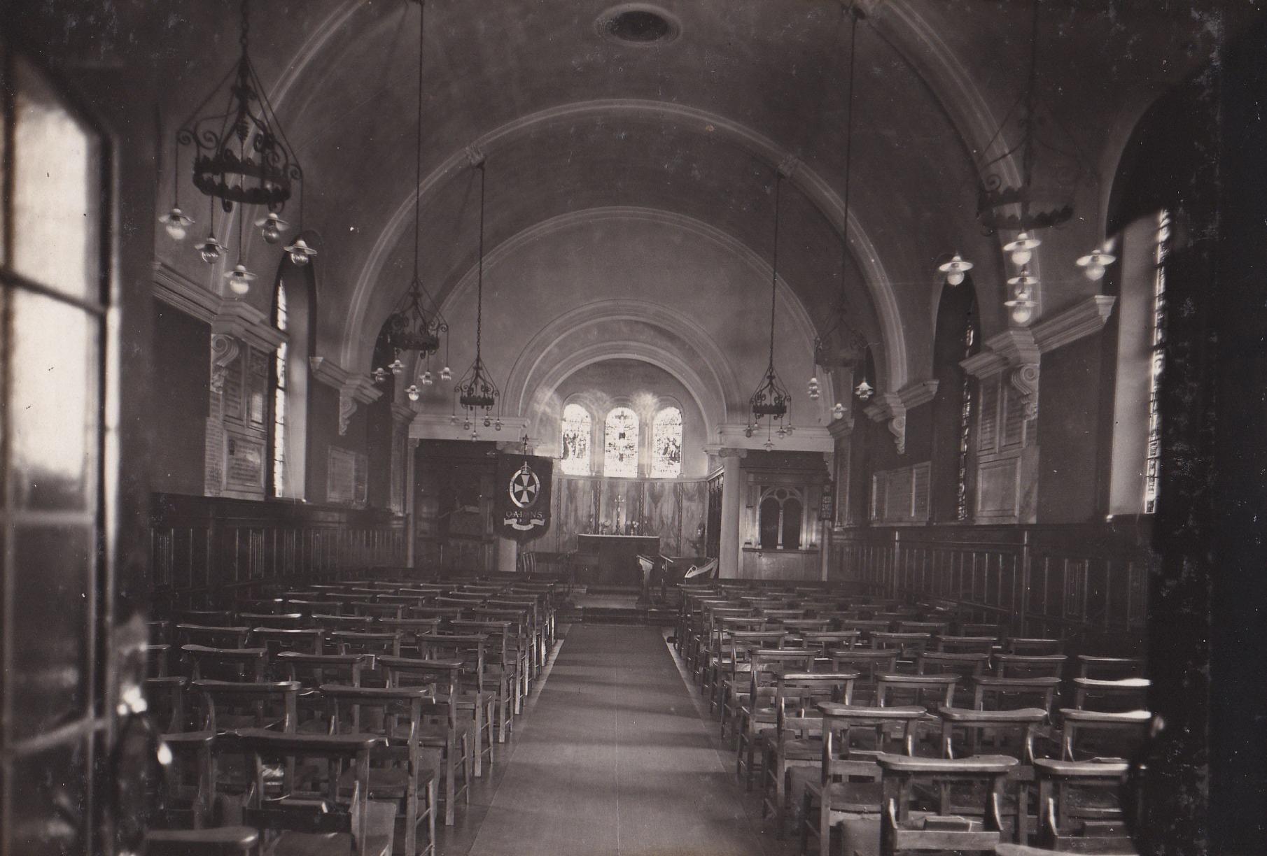 Chapel at Queen Alexandra Military Hospital