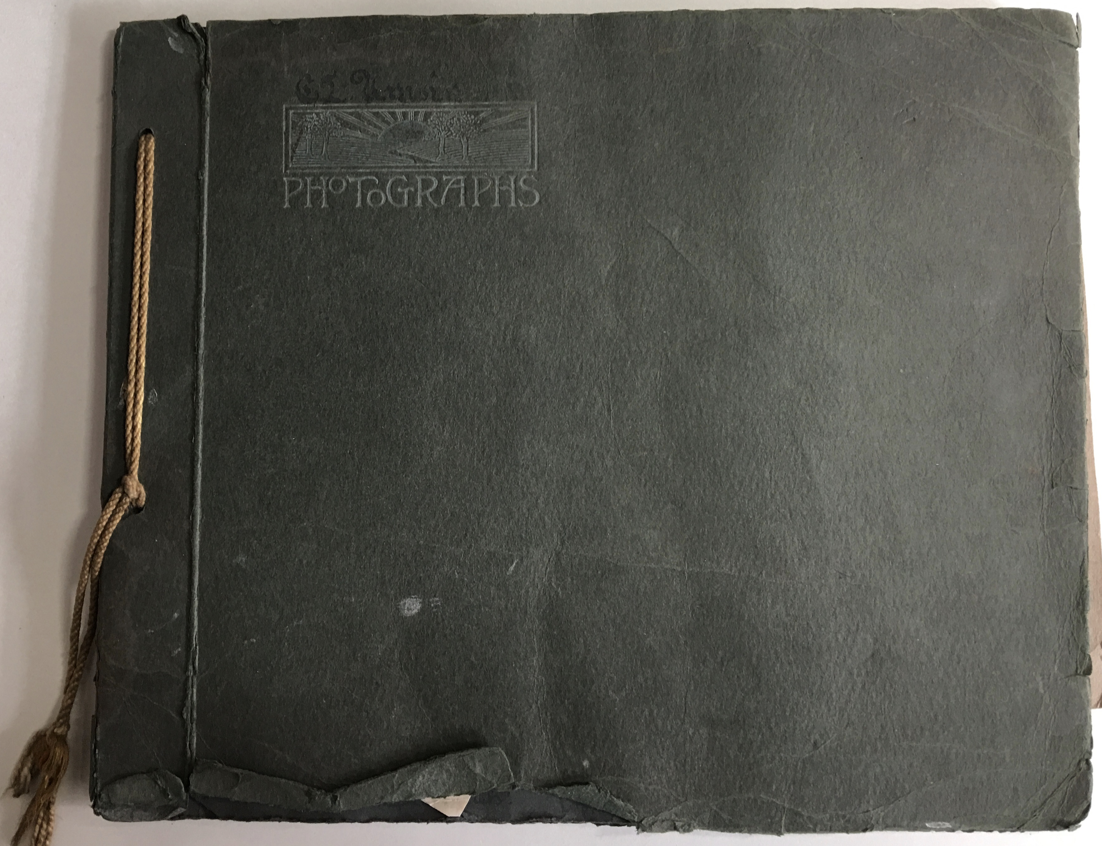 WW1 Photograph Album