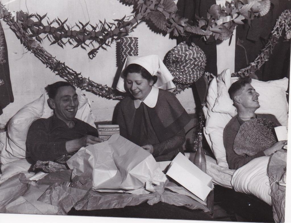 QAIMNS (R) nurse with the BEF Christmas1939